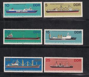 GERMANY - DDR SC# 2272-7 VF MNH 1982