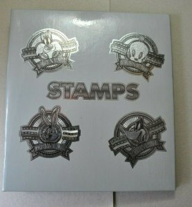 Small Warner Brothers stamp stock book