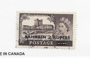 Bahrain, 96, Surcharged Single, Used