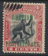 North Borneo  SG 130 SC# 108 CTO  OPT perf 13½ x 14 see scan & details