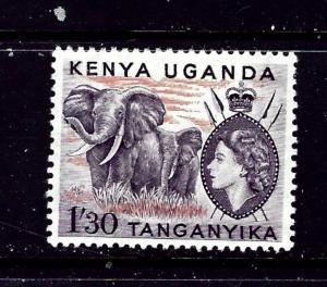 Kenya UT 113 MH 1954 Elephants