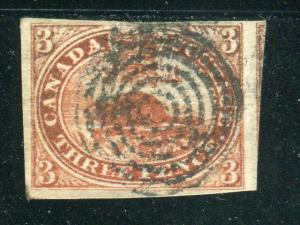 Canada #4a  Used  VF       - Lakeshore P...