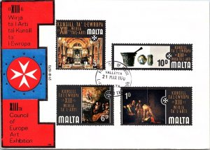 Malta, Worldwide First Day Cover