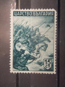 BULGARIA, 1942, used 15s, Bulgarian literature, Scott 421