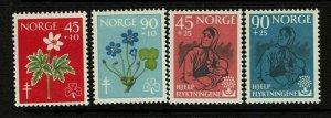 Norway SC# B62-B65, Mint Never Hinged - S9414
