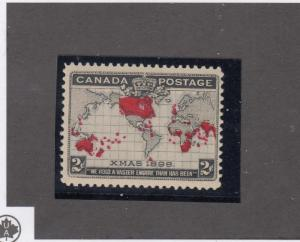 CANADA LOT KK6565 # 85 VF-MNH 2cts IMPERIAL PENNY POST CAT VALUE $180