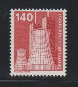 Germany,  140pf Heating plant (SC# 1183) MNH