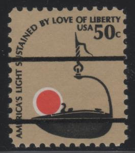 Scott 1608 50c Betty Lamp Bureau Precancel MNH
