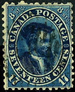 Canada #19a aUsed