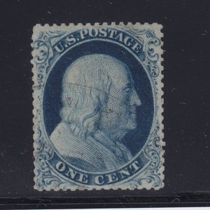 21 scarce VF used , small faults , light cancel PF cert nice color ! see pic !
