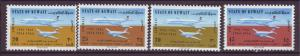 J20849 Jlstamps 1964 kuwait sets mnh #c5-8 airplanes