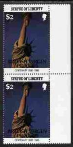 British Virgin Islands 1986 Statue of Liberty Centenary $...