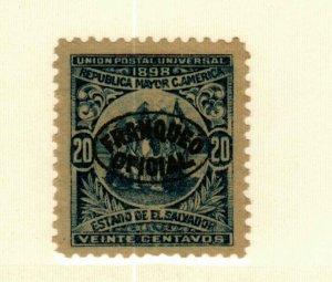 Salvador #O136 MNG CV$19.00