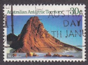 Australian Antarctic Terr. # L66, Mt. Coates, Used