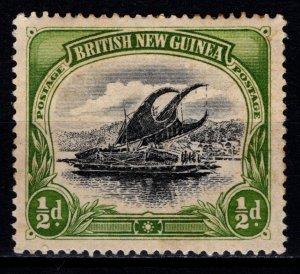 British New Guinea 1901 Definitive, 1/2d [Unused]
