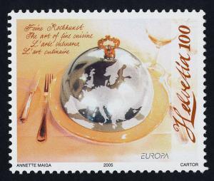 Switzerland 1207 MNH EUROPA, Food
