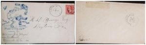 O) 1899 PHILIPPINES,  US OCCUPATION, SAMPOE S.C, SPANISH AMERICAN  WAR, US PATRI