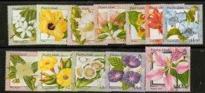 PITCAIRN ISLANDS SG564/75 2000 FLOWERS MNH