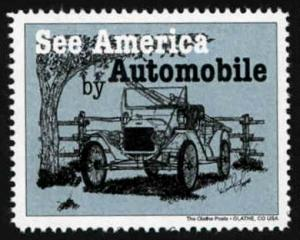 See America by Automobile #2 - Artistamp - Cinderella - MNH
