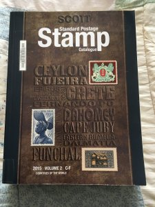 Scott 2015 Standard Postage Stamp Catalogue Volume 2: C - F Countries ExLibrary