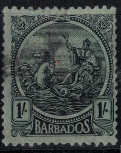 Barbados 1907 SC 159 Used SCV $160.00