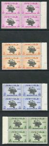 Bahawalpur SG43/6 1949 U.P.U Set on Blocks of 4 U/M