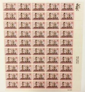 C-86    Electronics, De Forest, Audions.   MNH 11¢ sheet of 50.    In 1973.