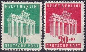 Germany #B302-3  MNH CV $12.00  (Z8034)
