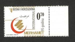 BOSNIA -MNH-STAMP-Muslim Charity Merhamet-2008.