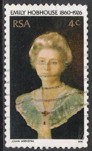 South Africa #469 Emily Hobhouse Used