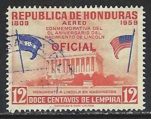 Honduras CO103 VFU Z4838-1
