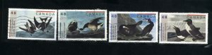 Canada #1979-82   -3   used VF 2003 PD