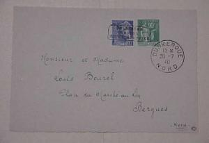 GERMAN FRANCE DUNKIRCHEN type 1 UNPRICED #7 cat.$1300.00 on FRONT ONLY WITH Z