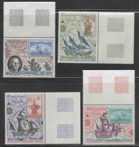 Mali Scott C426-C429 MNH** 1981 Ship stamp on stamp set