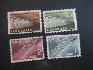 Uruguay #633-36 Mint Never Hinged WDWPhilatelic (H5K7)