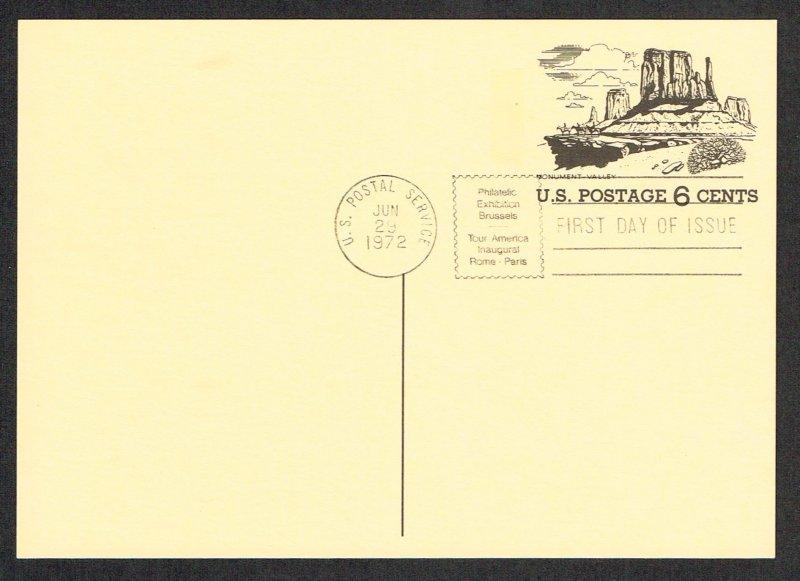 United States FDC Scott UX62