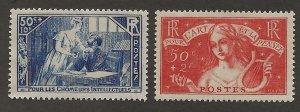 France B42-B43 MH Set