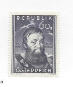 Austria, 570, Andreas Hofer Single, **VLH** (LL2018)