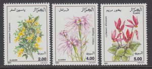 Algeria 936-938 Flowers MNH VF