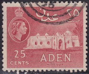 Aden 51 USED 1953 Mosque