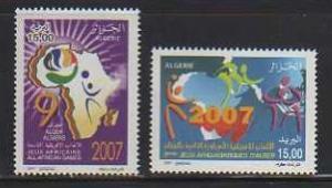 Algeria MNH sc# 1399-1400 Sports 2014CV $2.20