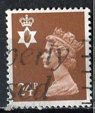 Great Britain, Regional, North. Ireland; 1991: Sc. # NIMH45: O/Used Single Stamp