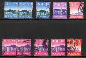 Hong Kong panoramic views used mix