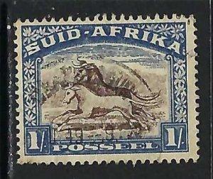 SOUTH AFRICA 43b VFU Z4700-5