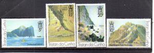 Tristan da Cunha 268-271 MNH