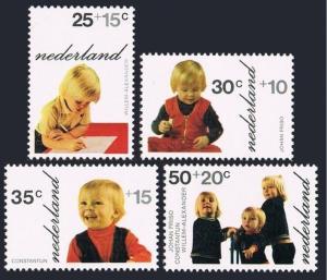 Netherlands B489-92,B491a,MNH.Michel 1001-1004,Bl.11. Photographs:Dutch Princes.