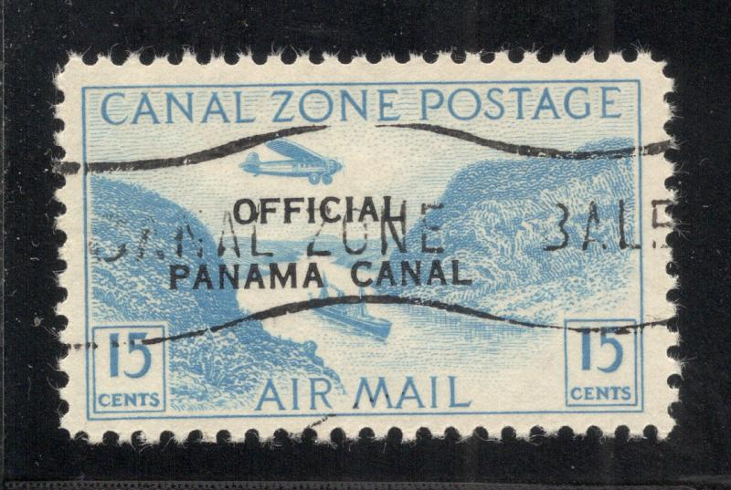 CZ#CO3 Air Post Official - Used - (With Overprint and O.G. as Issued)