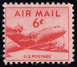 US #C39b DC-4 Skymaster; MNH (0.50)