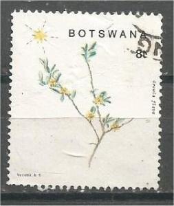 BOTSWANA, 1988, used 8t, Christmas, Scott 448