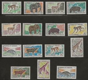 Cameroon (1962)  - Scott # 358 - 372,  MH